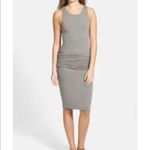 Standard James Perse Black Sleeveless Tank Dress